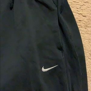 Nike Pants - Nike Sweat Pants Color Black Size Medium Loose Fit